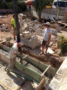 rohbau beton pumpe fundament mallorca mallorca. Black Bedroom Furniture Sets. Home Design Ideas