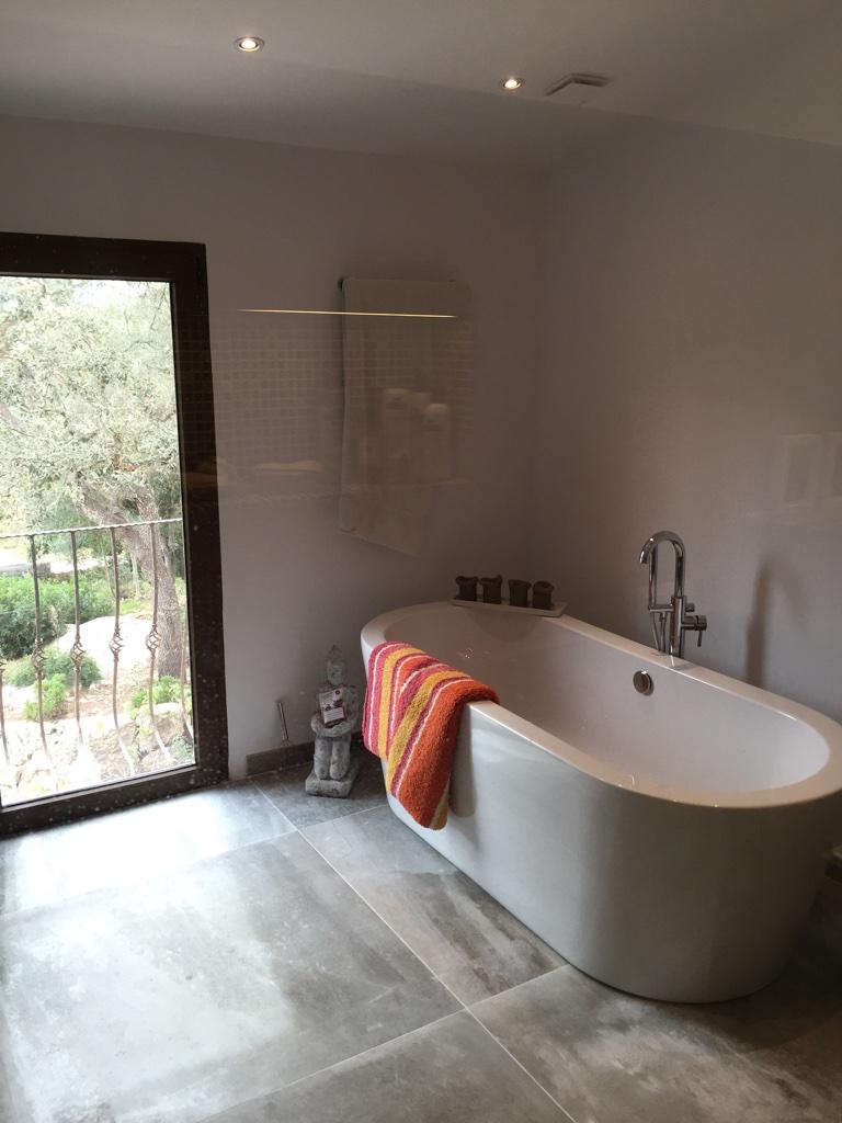 Badezimmer saniert  Mallorca Bauunternehmen Bau Firma Kuhlmann+