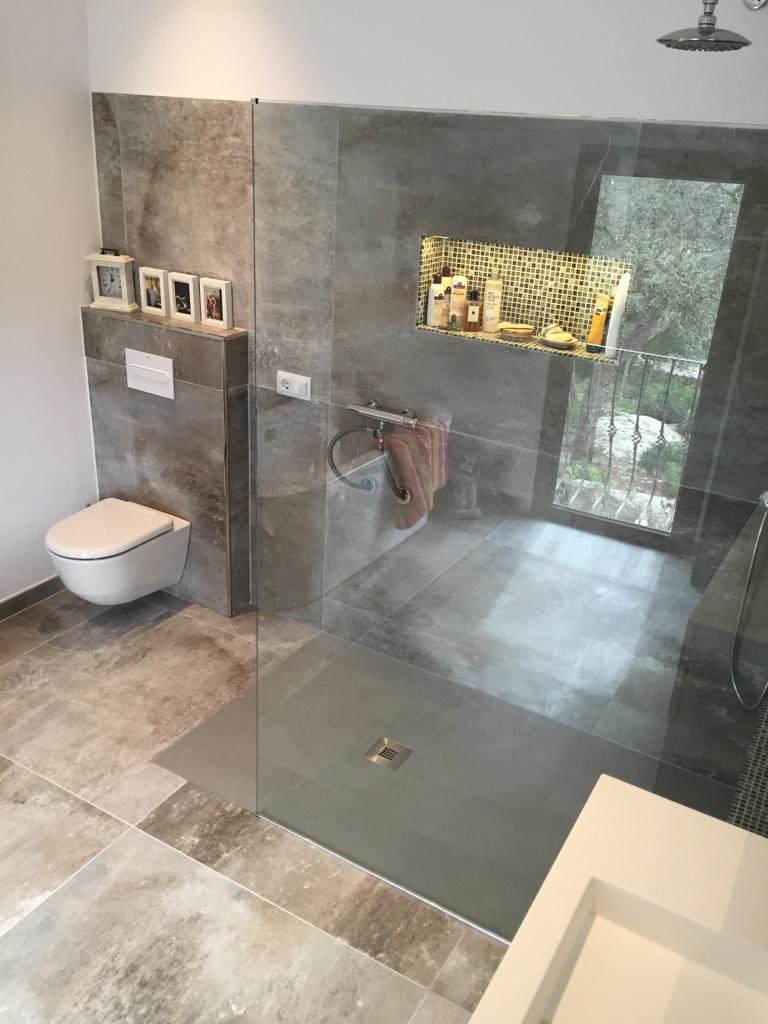 Beleuchtung Dusche badezimmer saniert mallorca bauunternehmen bau firma kuhlmann partner s l