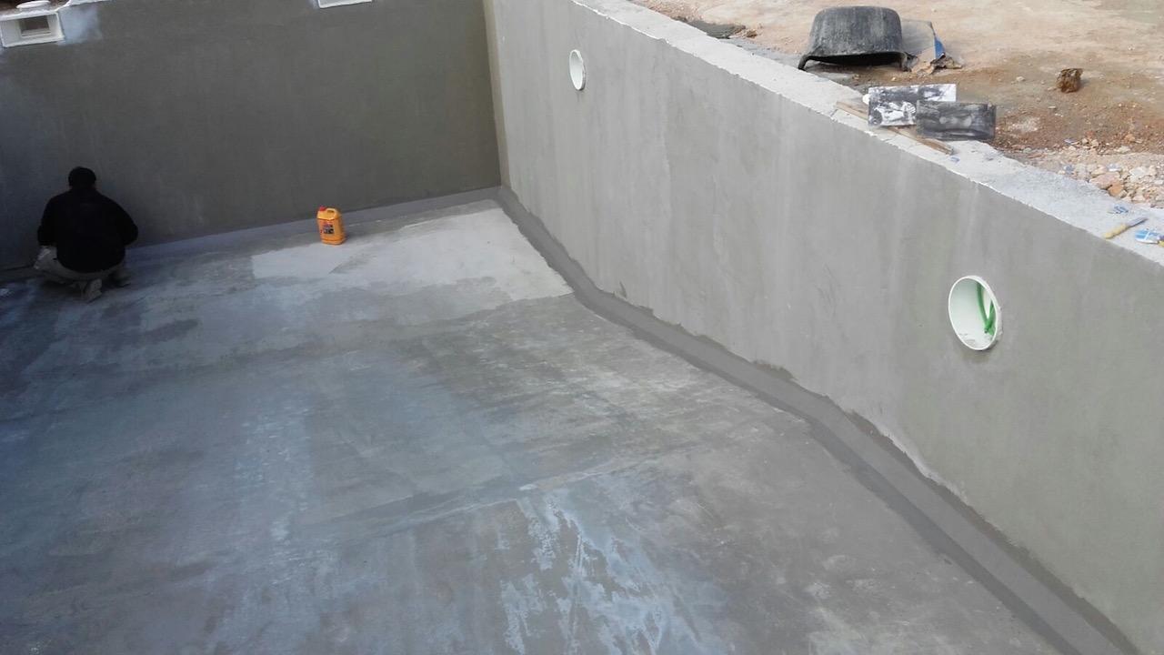 La construcci n de piscinas de hormig n proyectado for Construccion de piscinas en mallorca